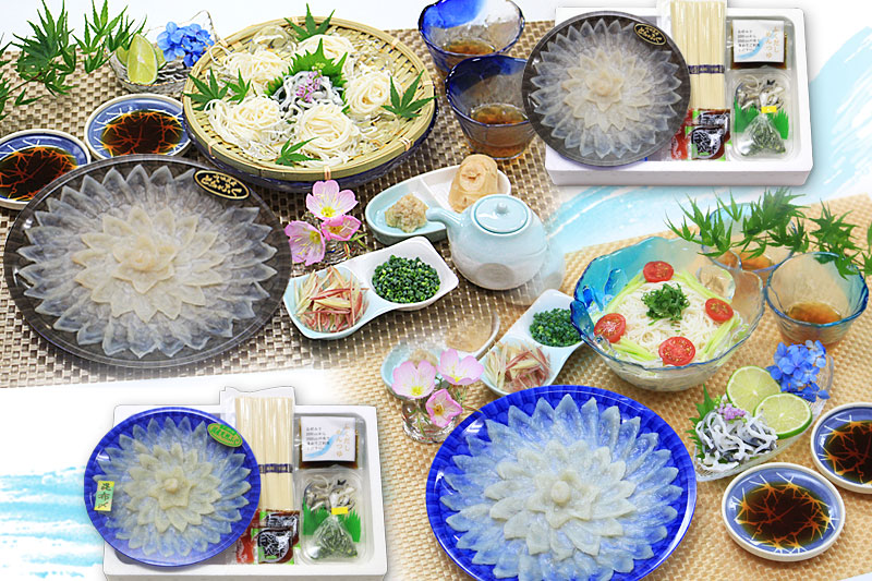 魚重 夏のふくのお中元セット 画像