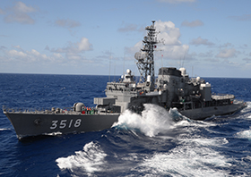 海上自衛隊『やまゆき』『せとゆき』一般公開 画像