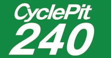 サイクルピット240 海峡店 ロゴ