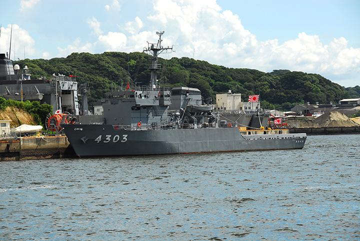 海上自衛隊『あまくさ』・『とよしま』一般公開 画像
